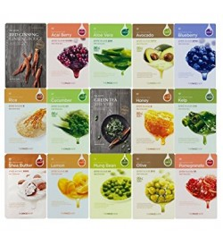 The Face Shop Real Nature Face Mask (14 types to choose)